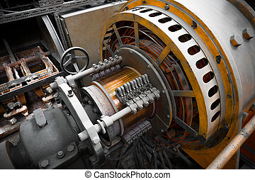 electric power generator - an electric power generator,...