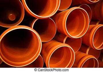 PVC tubes plastic
