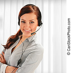 Call center operator Customer support Help desk
