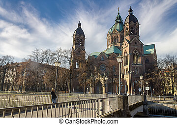 St Lukas church in munich