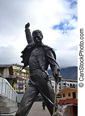 Statue of Freddie Mercury