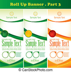 Multipurpose roll up banner series. Suitable for your...