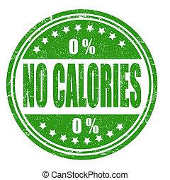 No calories stamp