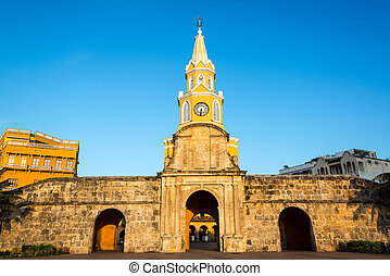Clock Tower Gate - The historic clock tower gate is the main...