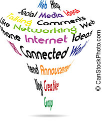 Internet business vector