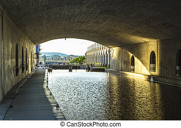 Ottawa Canal - The Rideau Canal is a defining landmark in...