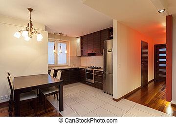 Spacious apartment - kitchen - Spacious apartment - interior...