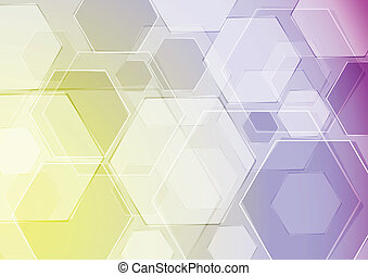 Hi-tech vector template