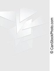 Grey vector background - Abstract tech light vector backdrop