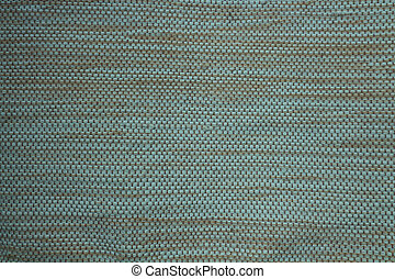 Woven textile surface with symmetric pattern
