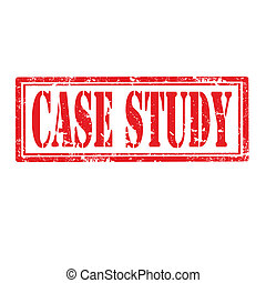 Case Study-stamp - Grunge rubber stamp with text Case...