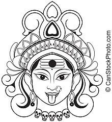 Kali - Indian Godddes Kali Maa .
