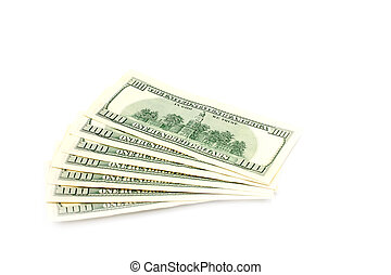 dollars - paper notes are dollars as element of the pay...