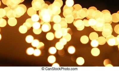 Abstract background with bokeh defo
