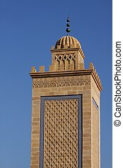 Mosque of Saint Etienne - Minaret of the mosque of Saint...