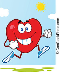 Healthy Heart Jogging