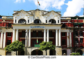 Government Telegraph Office Yangon - the Government...