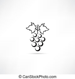 Vector illustration of isolated black and white store icon