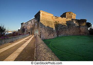 Sangallo Castle - The medieval castle of Civita Castellana,...