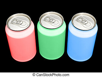 RGB cans