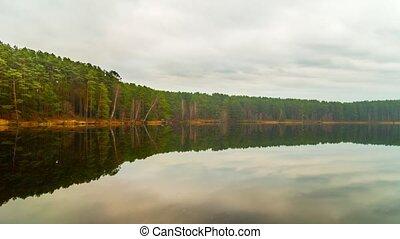 lake, panoramic timelapse