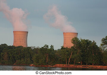 Three Mile Island Nuclear Generatin - Nuclear power plant...