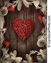 Valentines design - Love wreath