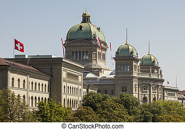 Bundeshaus - The parliament building Bundeshaus, the Federal...