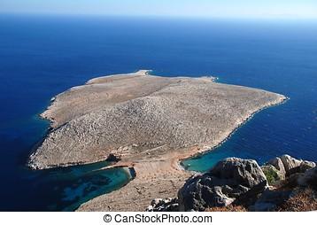 Trachia peninsular, Halki