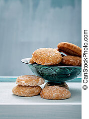 Honey vanilla cookies - Sweets baking. Honey vanilla cookies...