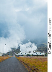 Geothermal power station