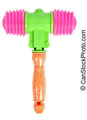 hammer toy isolated