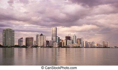 Miami Time Lapse - Time lapse of Miami, Florida