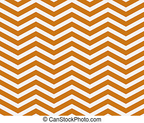 Dark Orange and White Zigzag Textured Fabric Background that...