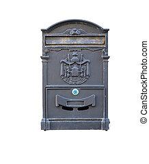Beautiful old mailbox .