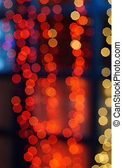 Abstract background in the form of lights bokeh...