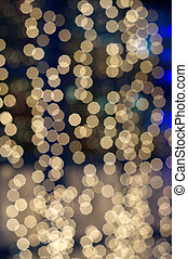 Abstract background in the form of lights bokeh