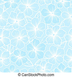 Beautiful seamless background of white and blue color with...