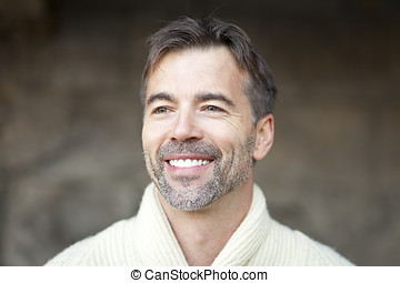Portrait Of A Successful Mature Man Smiling