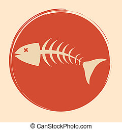sea food - sea food design over pink background vector...