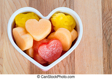 Valentines Day child friendly healthy treat with...
