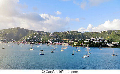 St Thomas views - Coastal views of the island of St Thomas...