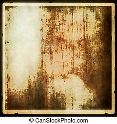 grungy blank photo paper background