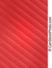 Abstract red background with sunburst