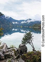 Eibsee Lake, Germany - Eibsee Lake near...