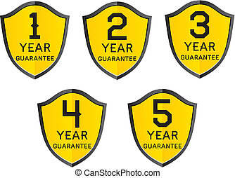 1,2,3,4,5 year guarantee