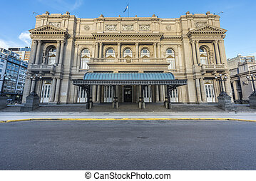 Colon Theatre in Buenos Aires, Argentina. - Colon Theatre...