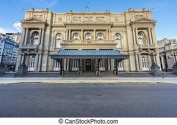 Colon Theatre in Buenos Aires, Argentina. - Colon Theatre...