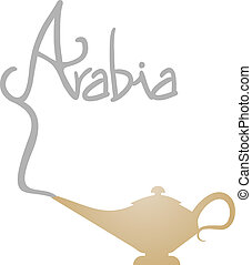 Arabia lamp - Creative design of arabia lamp