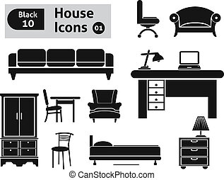 House icons. Vector set for you design